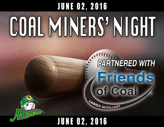 06/02: Coal Miners Night (F.O.C.L.A.)