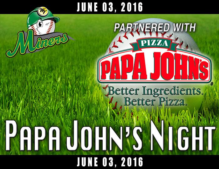 06/03: Papa John's Night