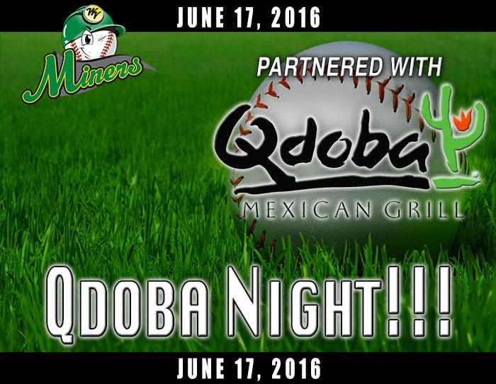 06/17: Qdoba Night