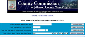 Jefferson County Taxes online database