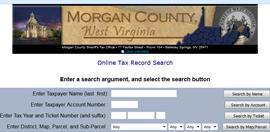 Morgan County Taxes online database