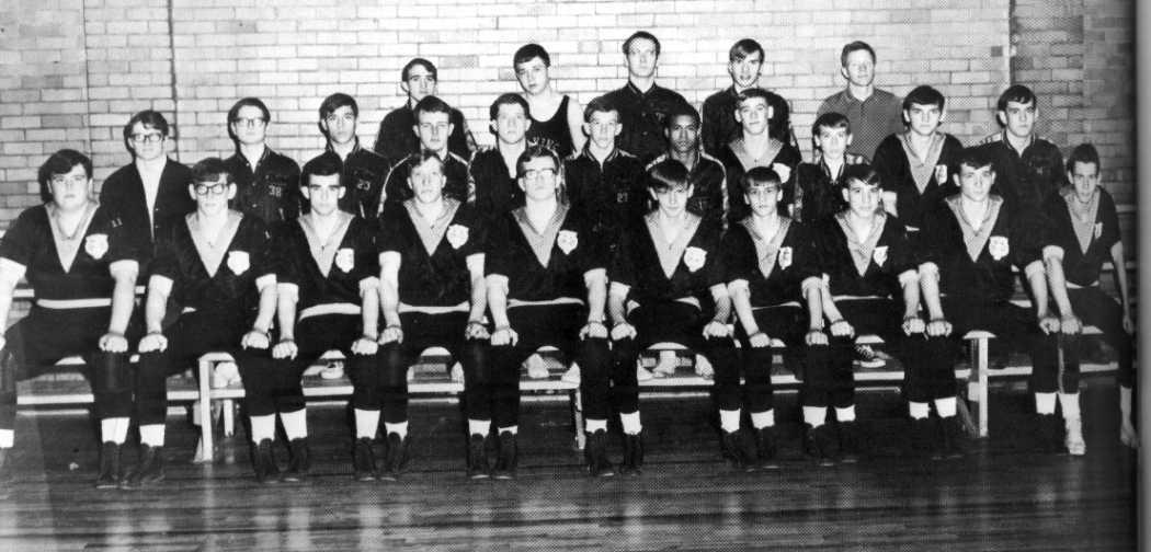 1968-69 Elkins High School Wrestling Team
