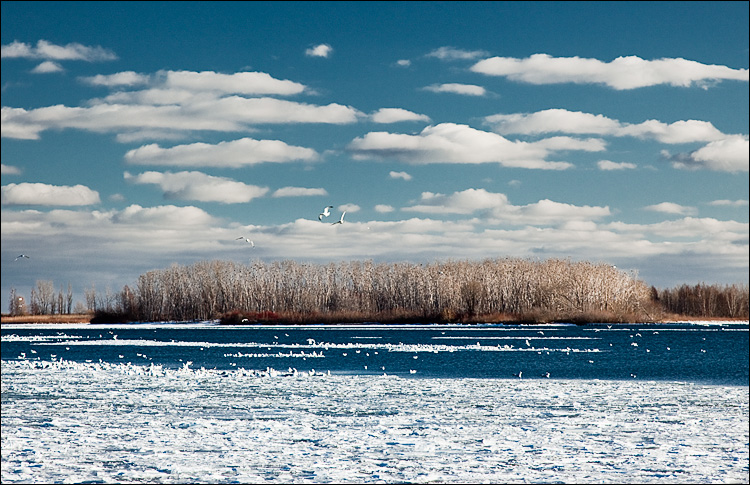 island and ice || Canon5D2/EF24-105f4L@105 | 1/125s | f8 | ISO200