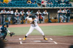 West Virginia catcher Tucker Mitchell. Logan Adams/WVSN