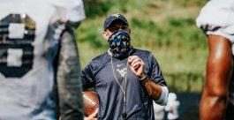 Special teams coordinator Jeff Koonz. WVU Athletics