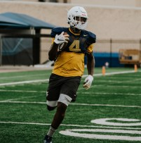 Running back Leddie Brown. WVU Athletics