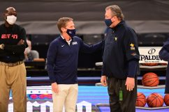 Phill Ellsworth/ESPN Images Bob Huggins Mark Few Gonzaga