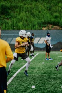 Quarterback Jarret Doege Credit Austin Gaines/WVU Football