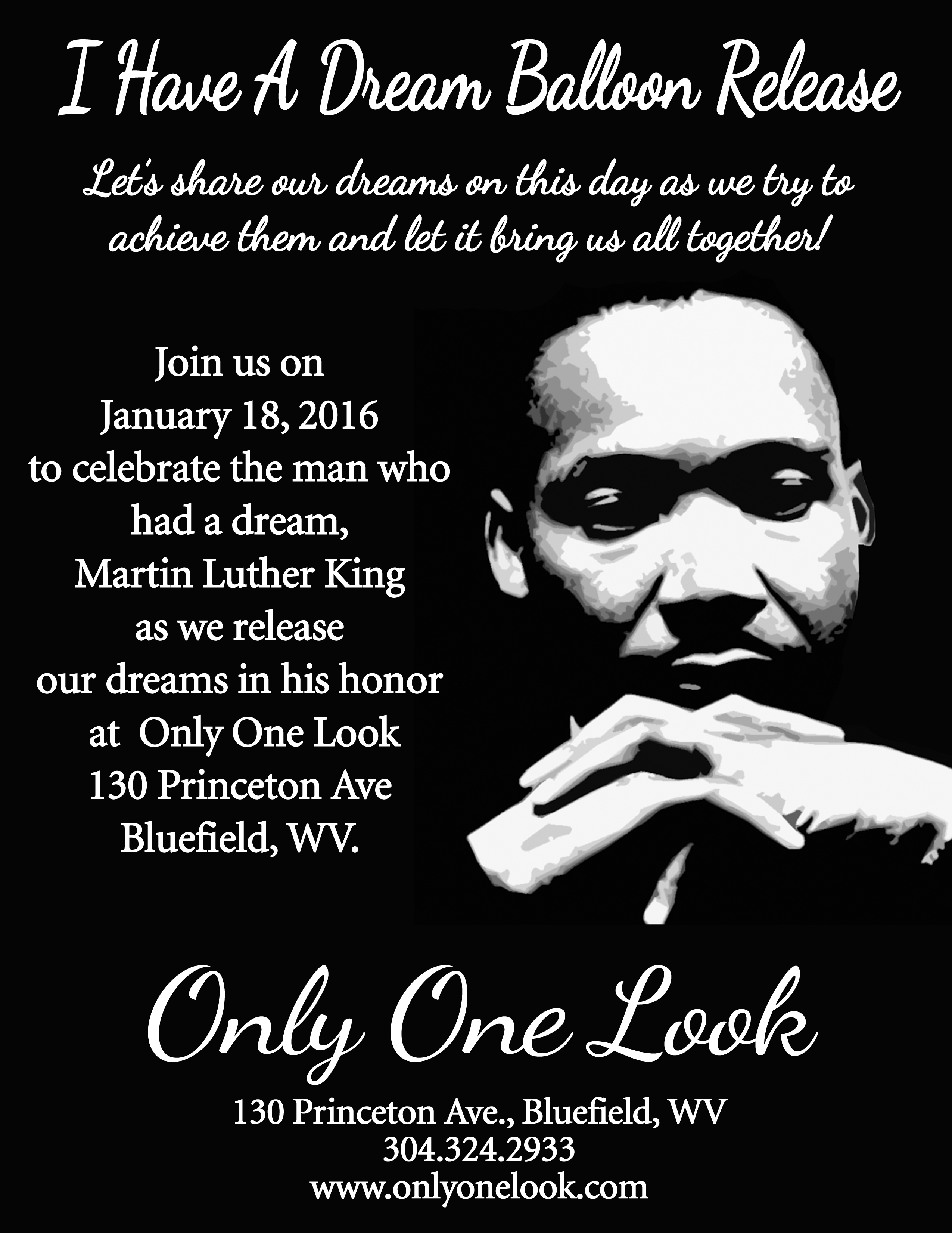 Martin Luther King I Have A Dream Balloon Release