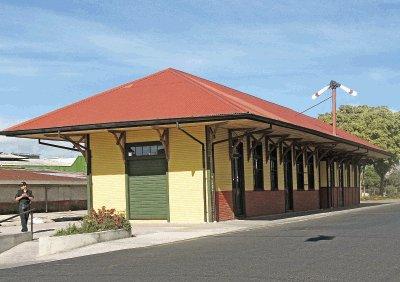 """Resultado de imagen de Antigua Estación del ferrocarril, Cartago"""""""