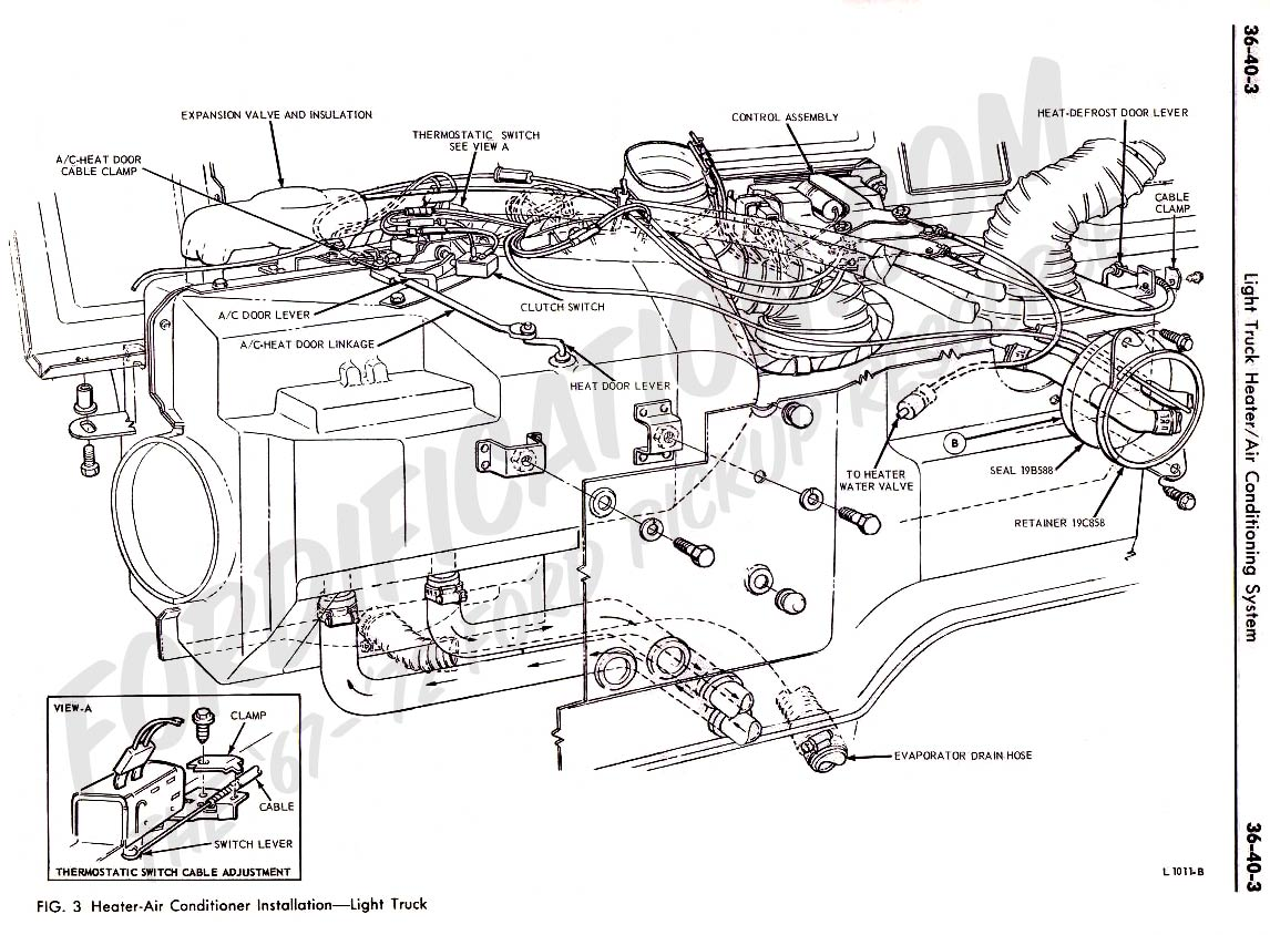 72 ford f250 wiring diagram gm delco radio truck technical drawings and schematics - section f heating/cooling/air-conditioning