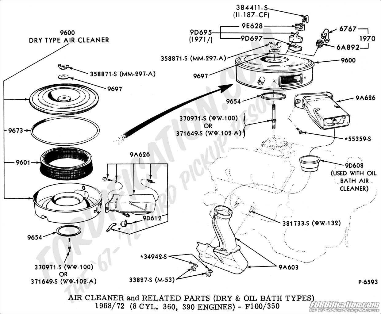 hight resolution of 1978 ford f100 302 vacuum diagram