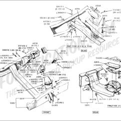 1995 Ford F150 Front Suspension Diagram John Deere F525 Mower Wiring Truck Technical Drawings And Schematics Section E