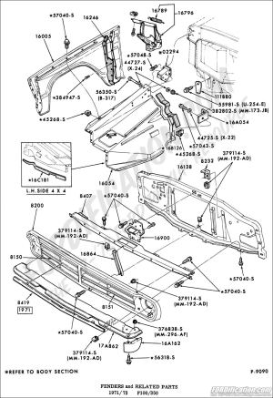 Ford Truck Technical Drawings and Schematics  Section D