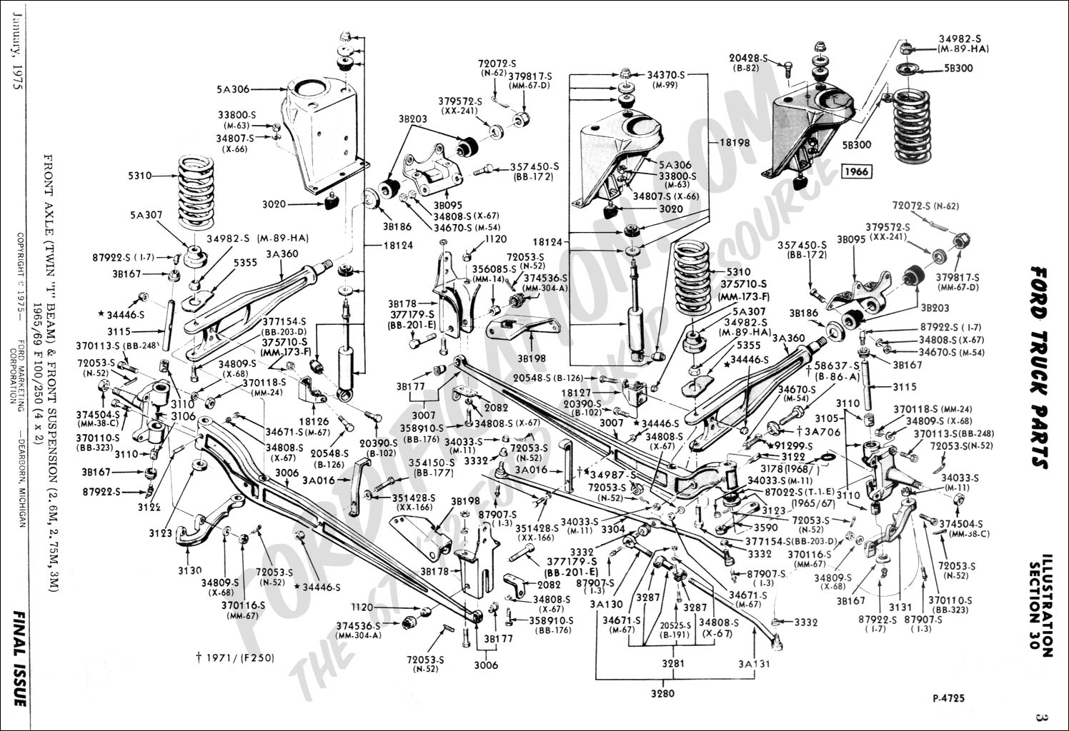 Ford 4x4 Front Steering Diagram