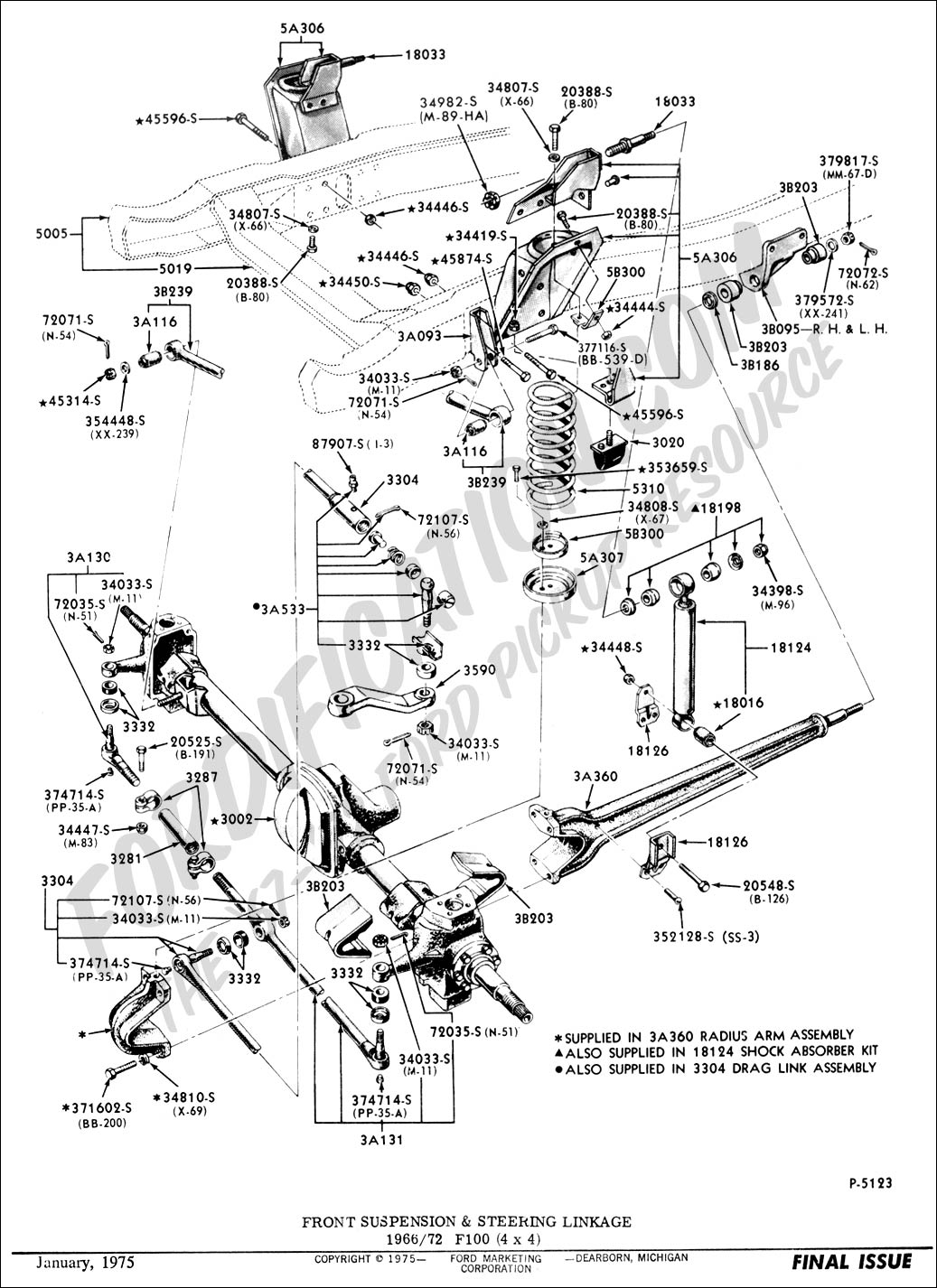 Ford F 150 Power Steering Line Diagram
