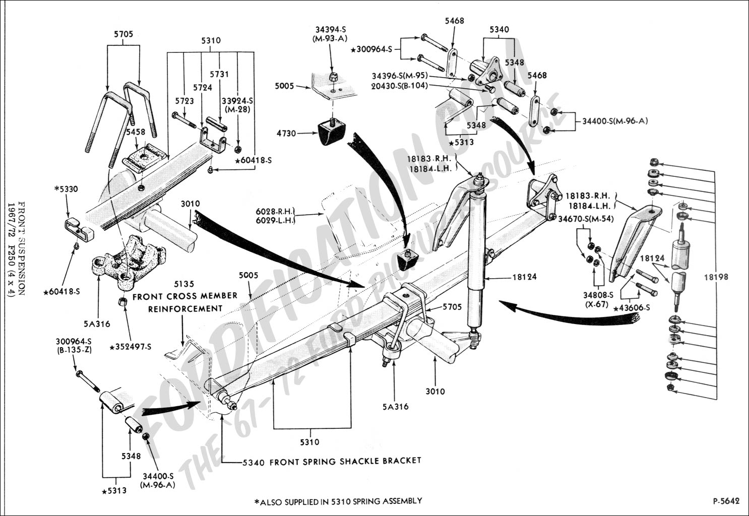 1968 f100 wiring diagram headphone jack ford truck technical drawings and schematics - section a front/rear axle assemblies ...