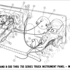 1968 F100 Wiring Diagram 2000 Subaru Outback Exhaust System Ford Truck Technical Drawings And Schematics Section H