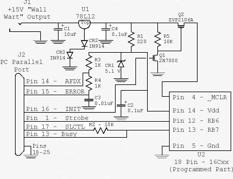 pickit2 circuit