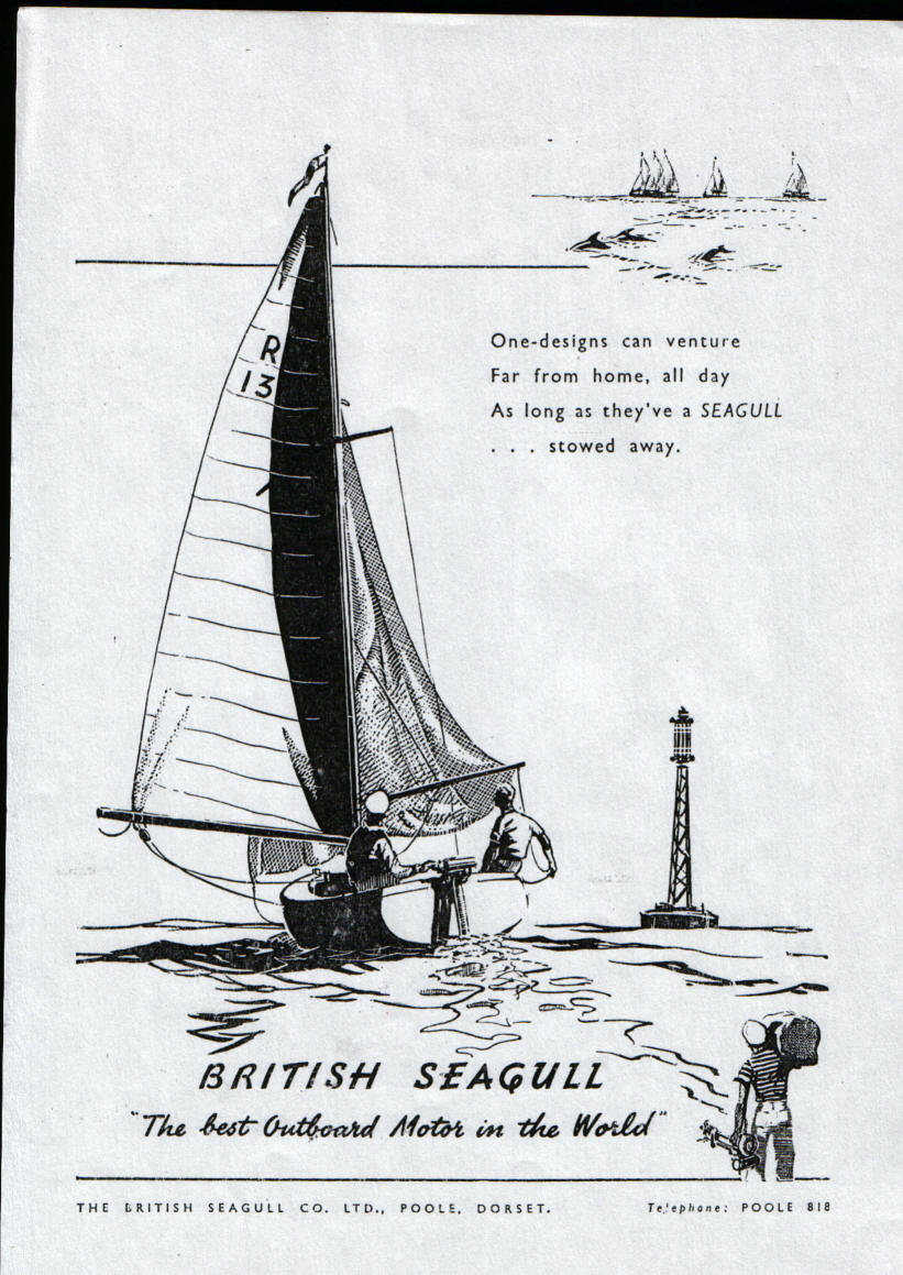 British Seagull adverts of yesteryear, gleaned from old