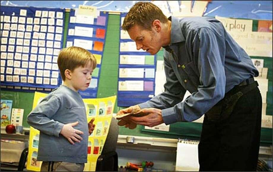 Its elementary Male teachers rare  seattlepicom