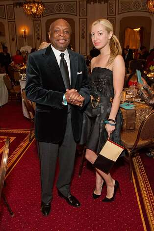 Former Mayor Willie Brown with girlfriend Sonya Molodetskaya. Photo: Drew Altizer Photography, Drew Altizer / SF