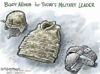 Body Armor (Nick Anderson / Houston Chronicle)