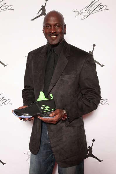 IMAGE DISTRIBUTED FOR JORDAN BRAND - Michael Jordan is seen at the Jordan Brand party celebrating hi