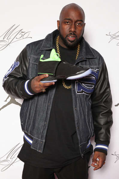 IMAGE DISTRIBUTED FOR JORDAN BRAND - Trae Da Truth is seen at the Jordan Brand party celebrating Mic