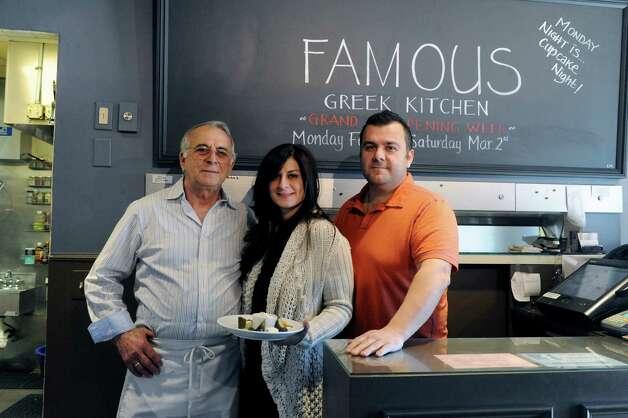 Byram Conn Thursday Feb 2013 Famous Greek Kitchen Family