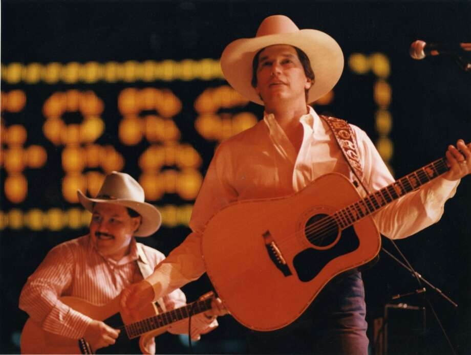 Image result for george strait concert oklahoma city rodeo image