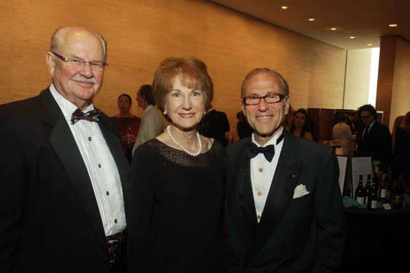Brad And Laura McWilliams From Left With Robert Sakowitz