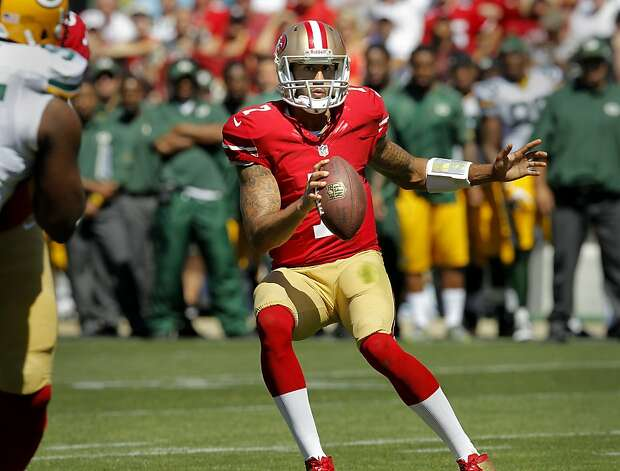 Colin Kaepernick becoming the starter was one element that made the rivalry with the Seahawks more interesting. Photo: Brant Ward, The Chronicle