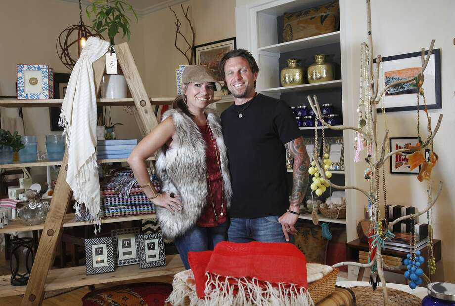 Pete And Hope Colling's S F Home Decor Store Mason Jar SFGate