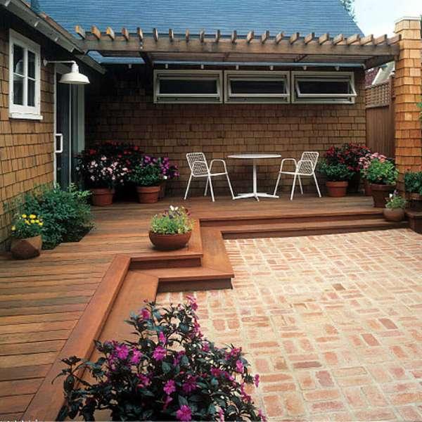 Backyard Deck Idea Patio Design