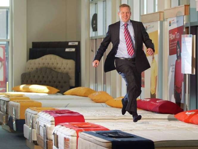 Portrait Of Steve Stagner Ceo And President Mattress Firm At The Corporate Office