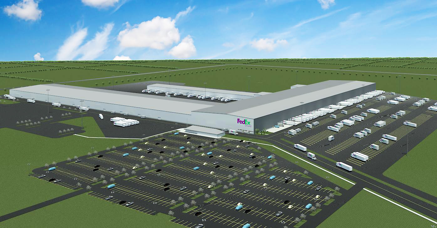 FedEx to build massive facility in Cypress  Houston Chronicle
