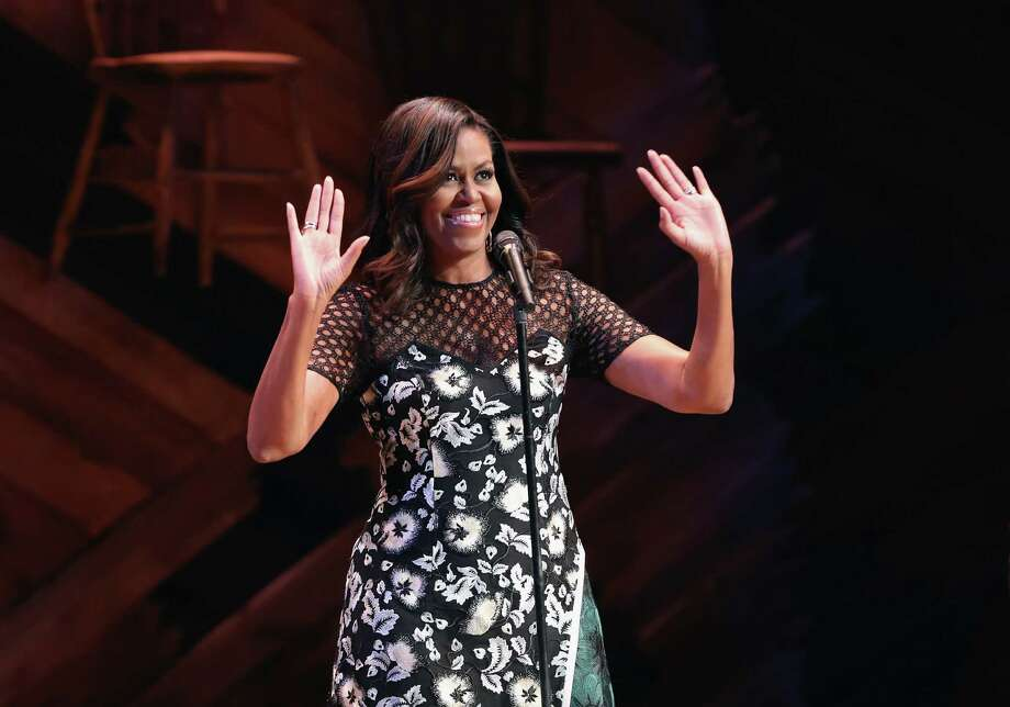 Image result for Michelle Obama hosts Broadway event  getty images