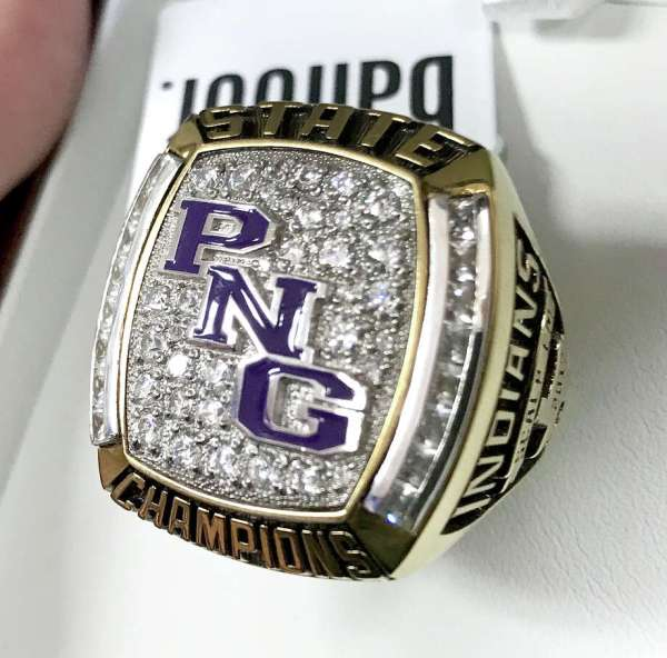 Pn- State Baseball Team Receive Championship Rings