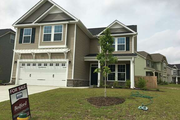 This home is in Raeford, N.C. Last month, 19,000 U.S. homes were sold for $500,000 or higher, while 13,000 were sold for $200,000 or less.
