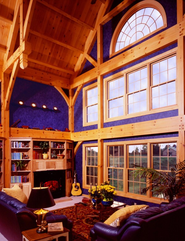 Timberframe Dick Pirozzolo Covers Unique Home