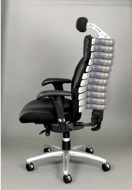 New Ergonomic Chair has an Adjustable BackboneSpine