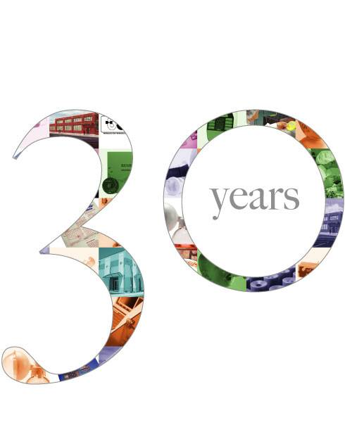 Years Logo 30th Business