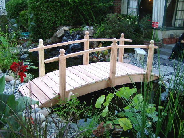 Handcrafted Garden Bridges Builds Traditional Arched Span Bridges with Modern Flair httpwww