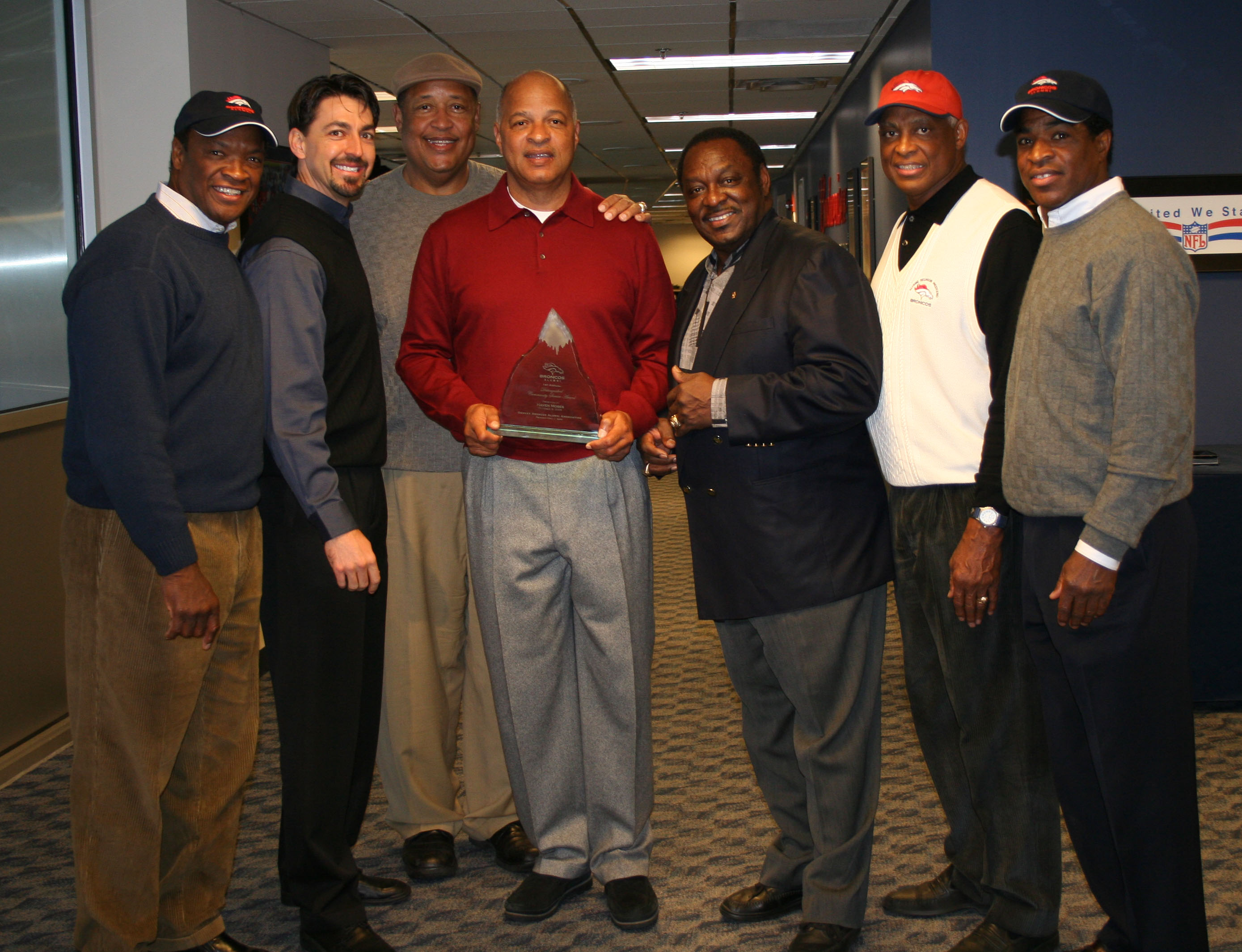 Haven Moses Receives First Annual Distinguished Community