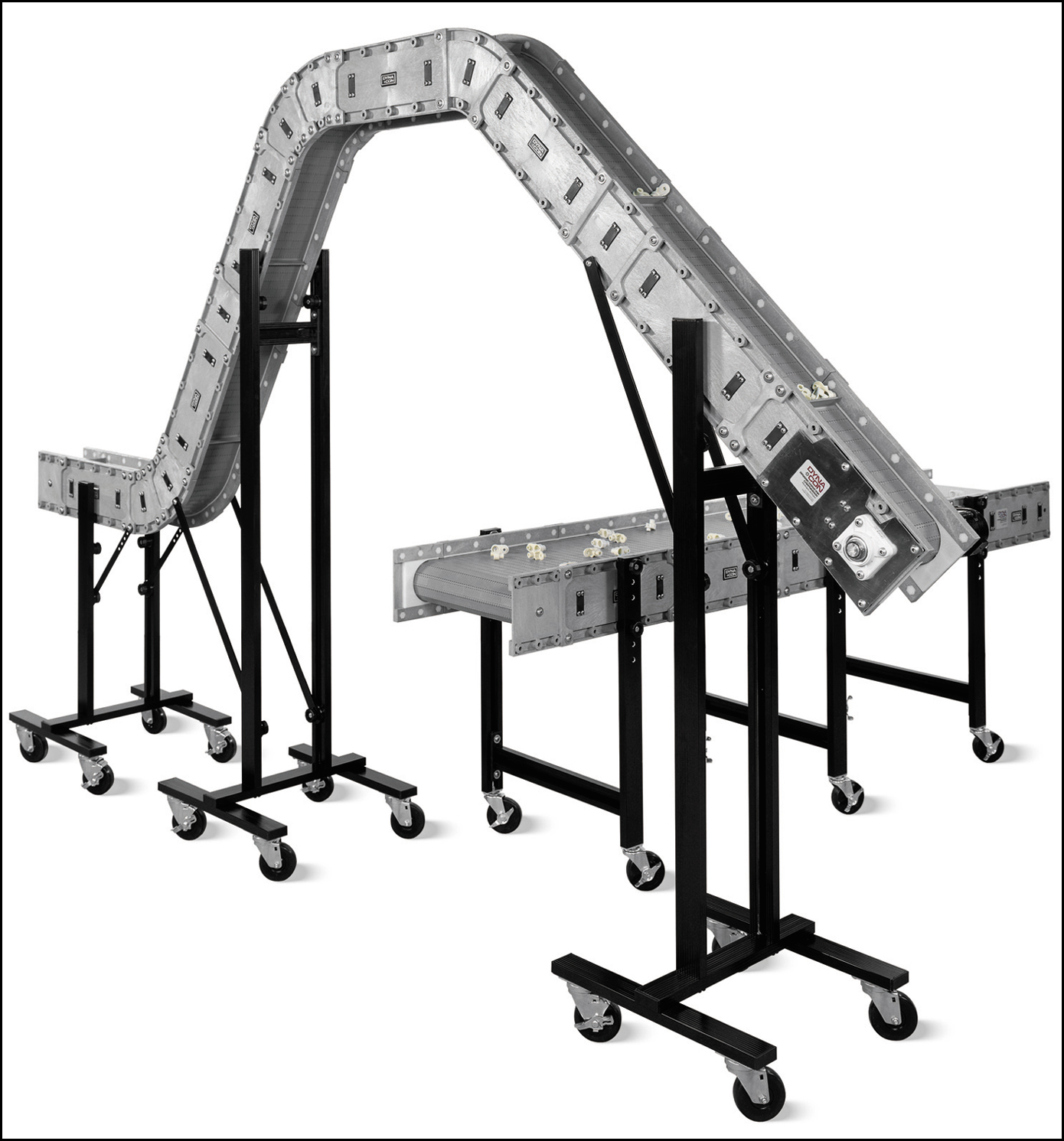 Modular Conveyors Clean Up Bagging Operation
