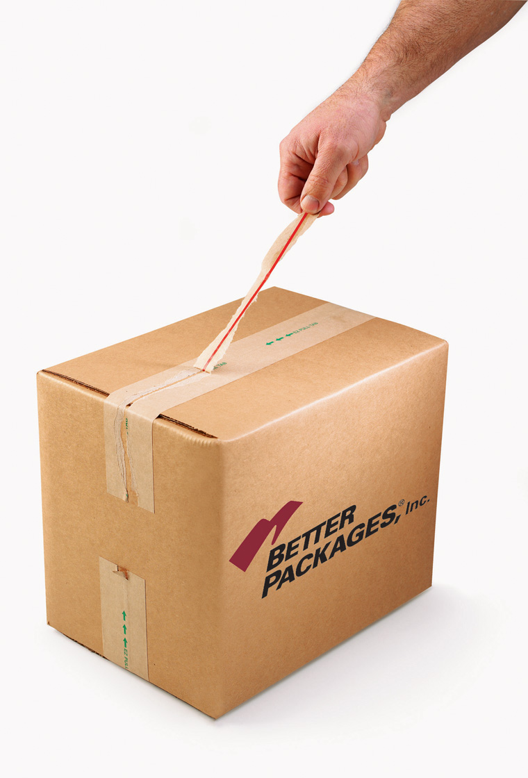 Better Packages Innovative Case Sealing System and Grip  Zip Packaging Tape Reduce Product