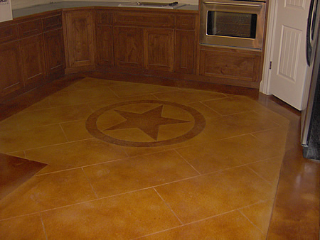 Learn to Stain Concrete Interior Floors StepbyStep