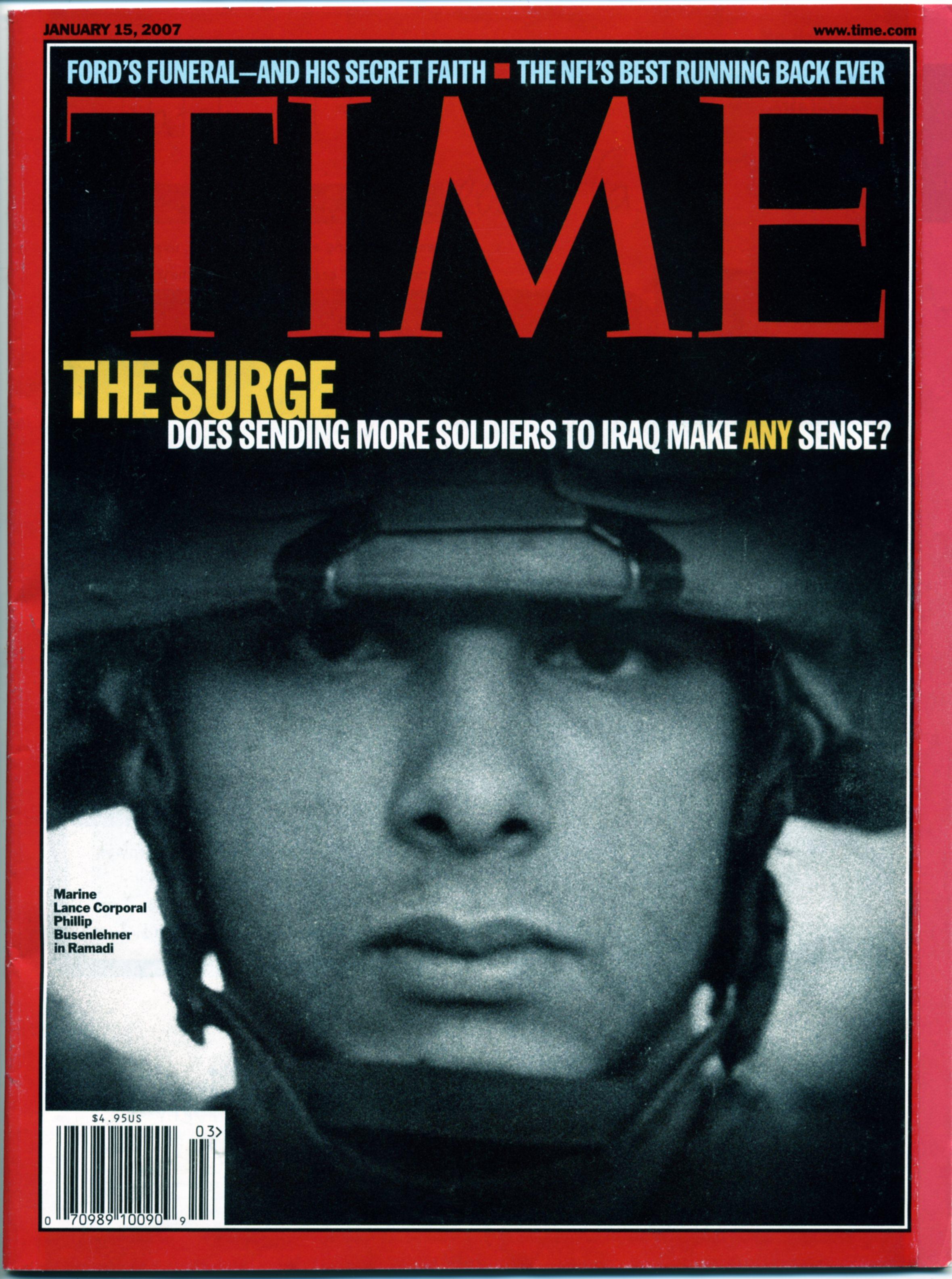 Time magazine circa 2001 Need some help