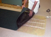 Electric Heat: Electric Heat Under Carpet